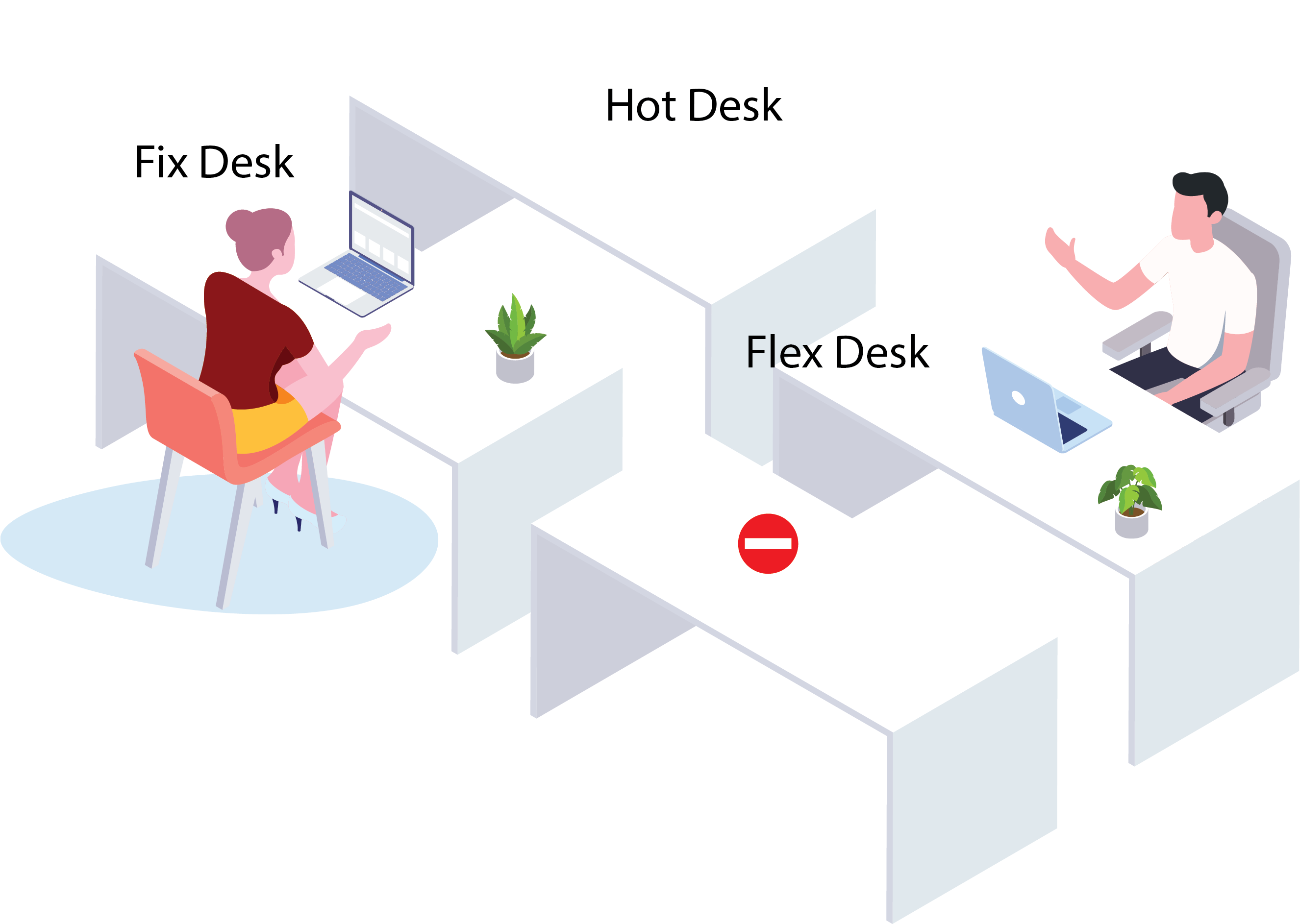 Hoteling Desk Management